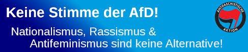Keine Stimme der AfD!