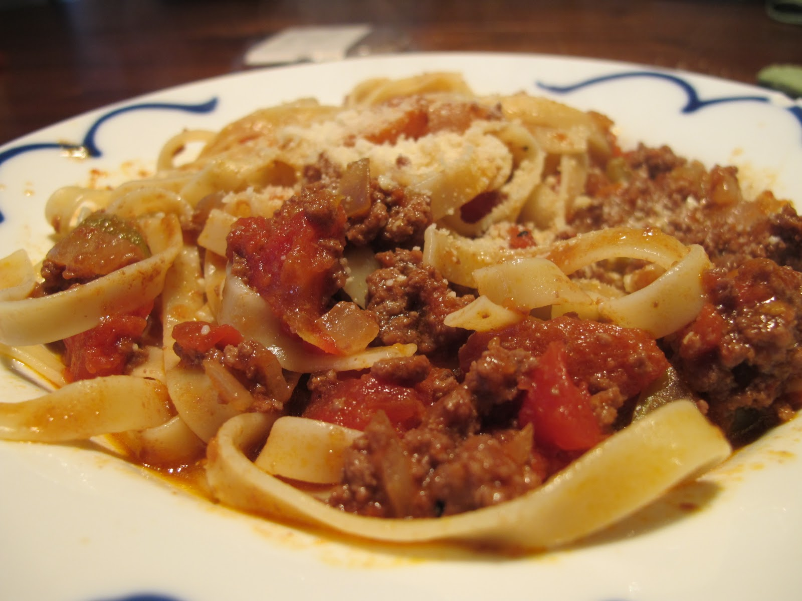 FEED ME: Pasta with Bolognese Sauce