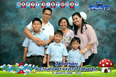 photo booth ulang tahun anak