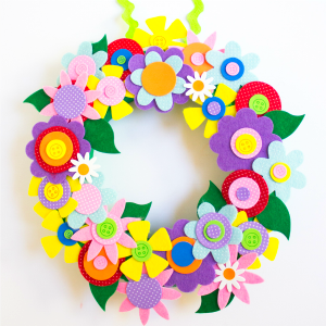 The prettiest spring wreath!