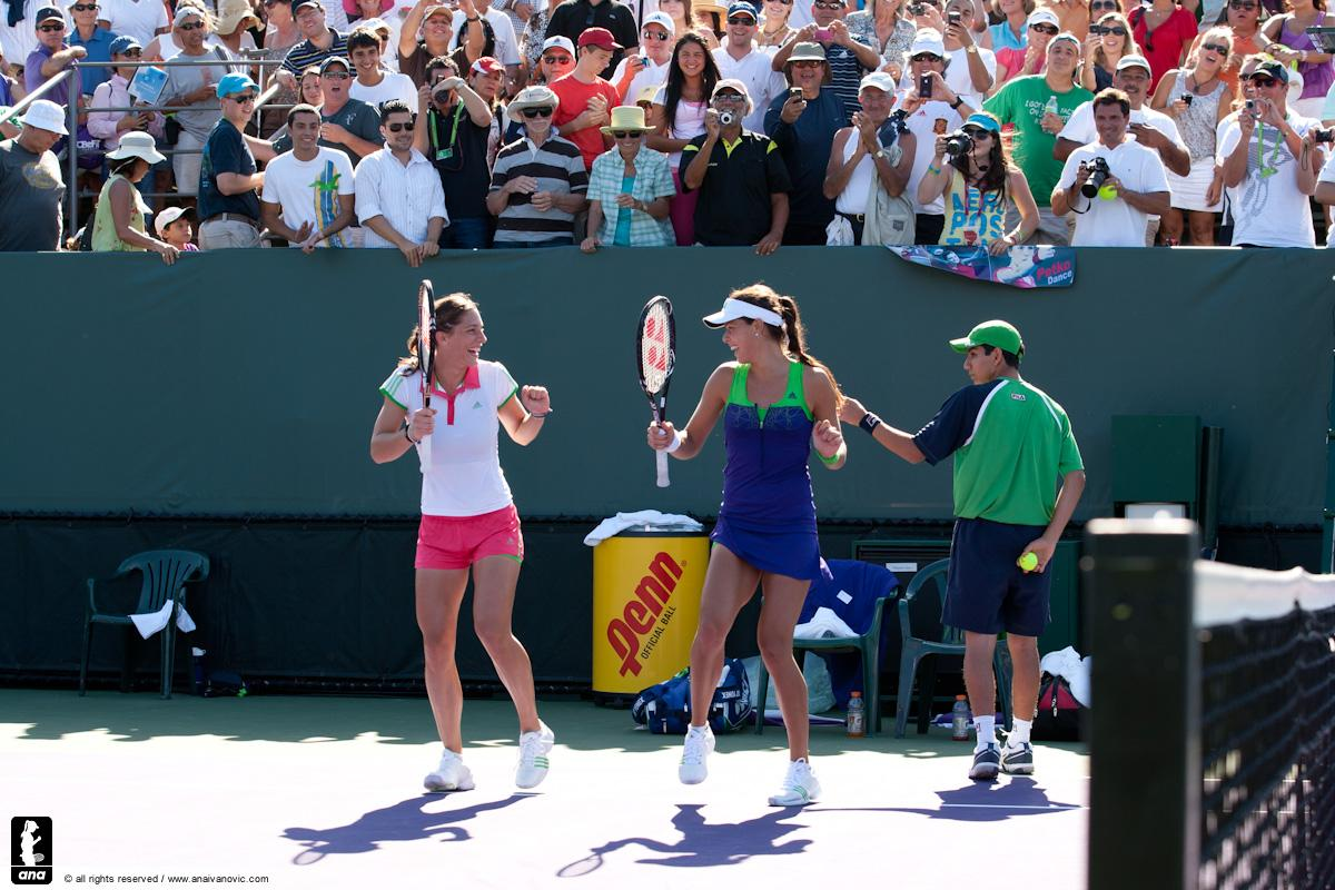 Andrea Petkovic + Ana Ivanovic