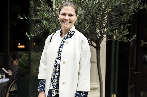 Crown Princess Victoria of Sweden was spotted shopping in Copenhagen