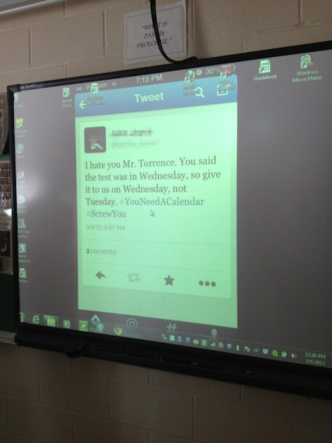 Teacher's SMARTBoard