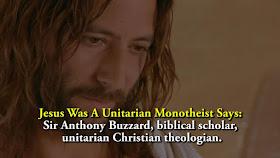 Jesus Was A Unitarian Monotheist.