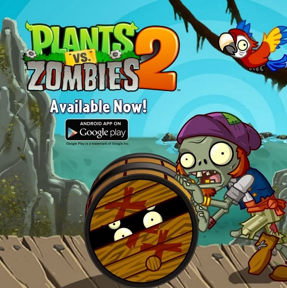 Download Plants VS Zombies 2 for Android GRATIS AND FULL