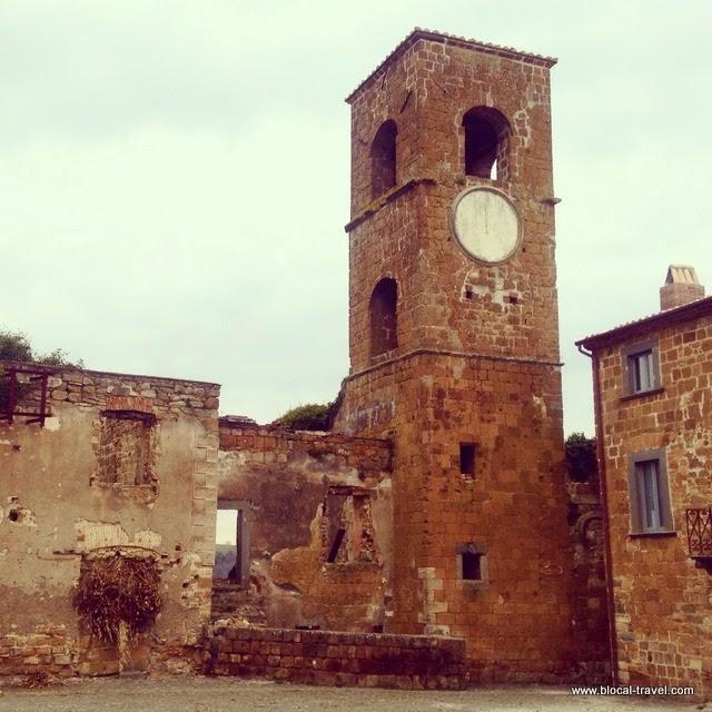 Celleno, ghost town, Lazio, Italy, Viterbo