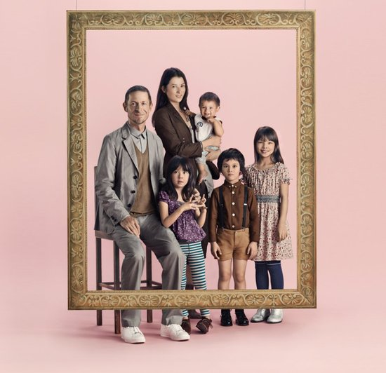 Uniqlo Undercover family portrait