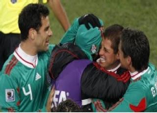 Foto Kemenangan Meksiko Atas Brazil Final Olimpiade 2012