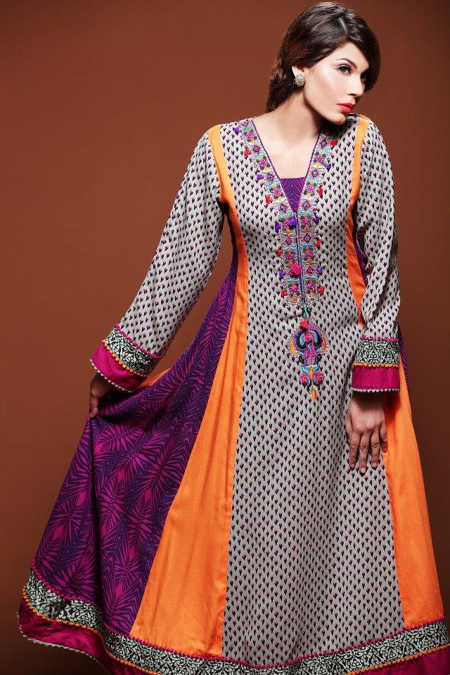 Indian Anarkali Frocks 2012