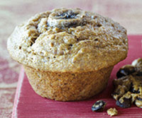 Banana-Flax Breakfast Muffins