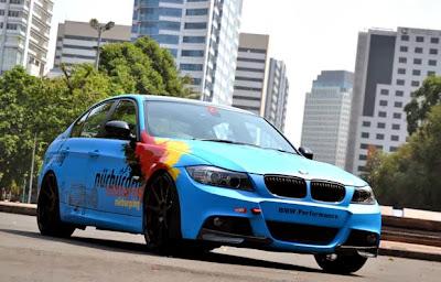 Modified BMW E90 320i 2012