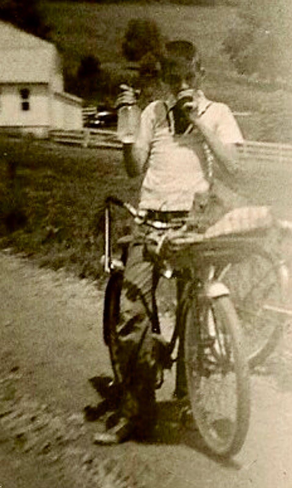 Paper Boy Ron - 1955