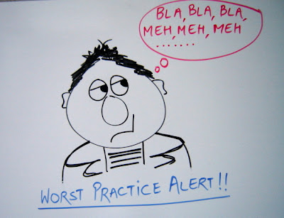 EA Worst Practice #1 - Enterprise Architecture for its own sake!
