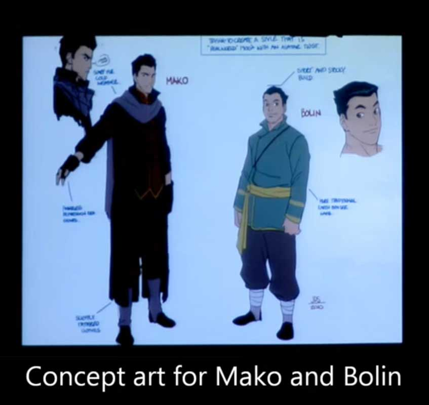 Concept Goulash: New LEGEND OF KORRA Concept Art