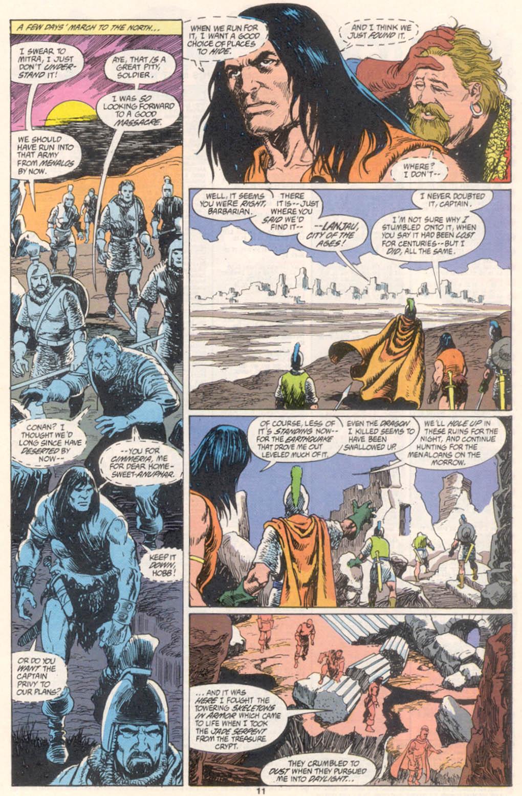 Conan the Barbarian (1970) Issue #255 #267 - English 9
