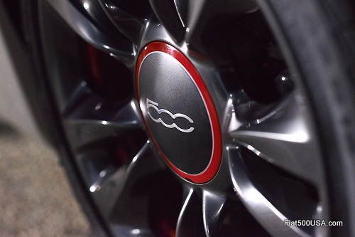 Fiat 500c GQ Edition Wheel