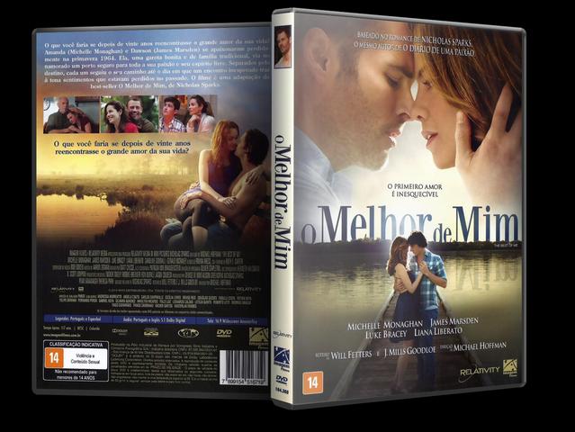 Capa DVD O Melhor De Mim