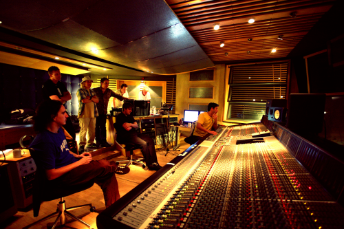 FM in the Metropolis control room