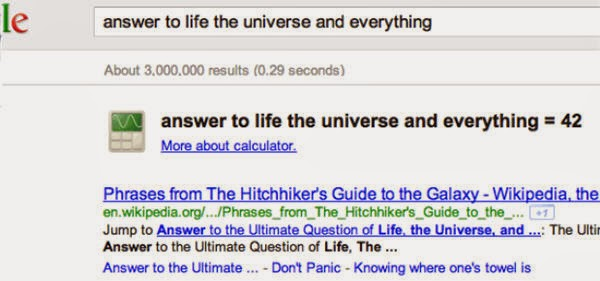 Google Meaning of Life
