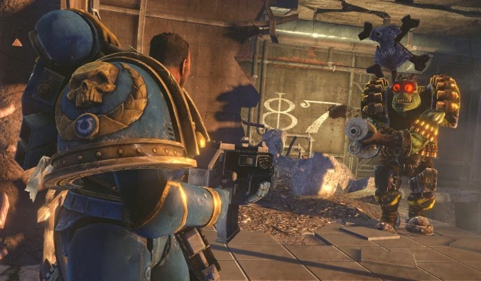 WARHAMMER 40,000: SPACE MARINE Full Torrent İndir