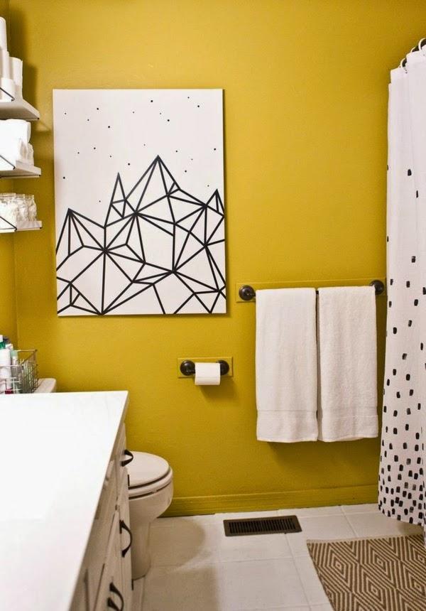 Hice Del Baño Color Amarillo:Decoración de baños color amarillo – Colores en Casa