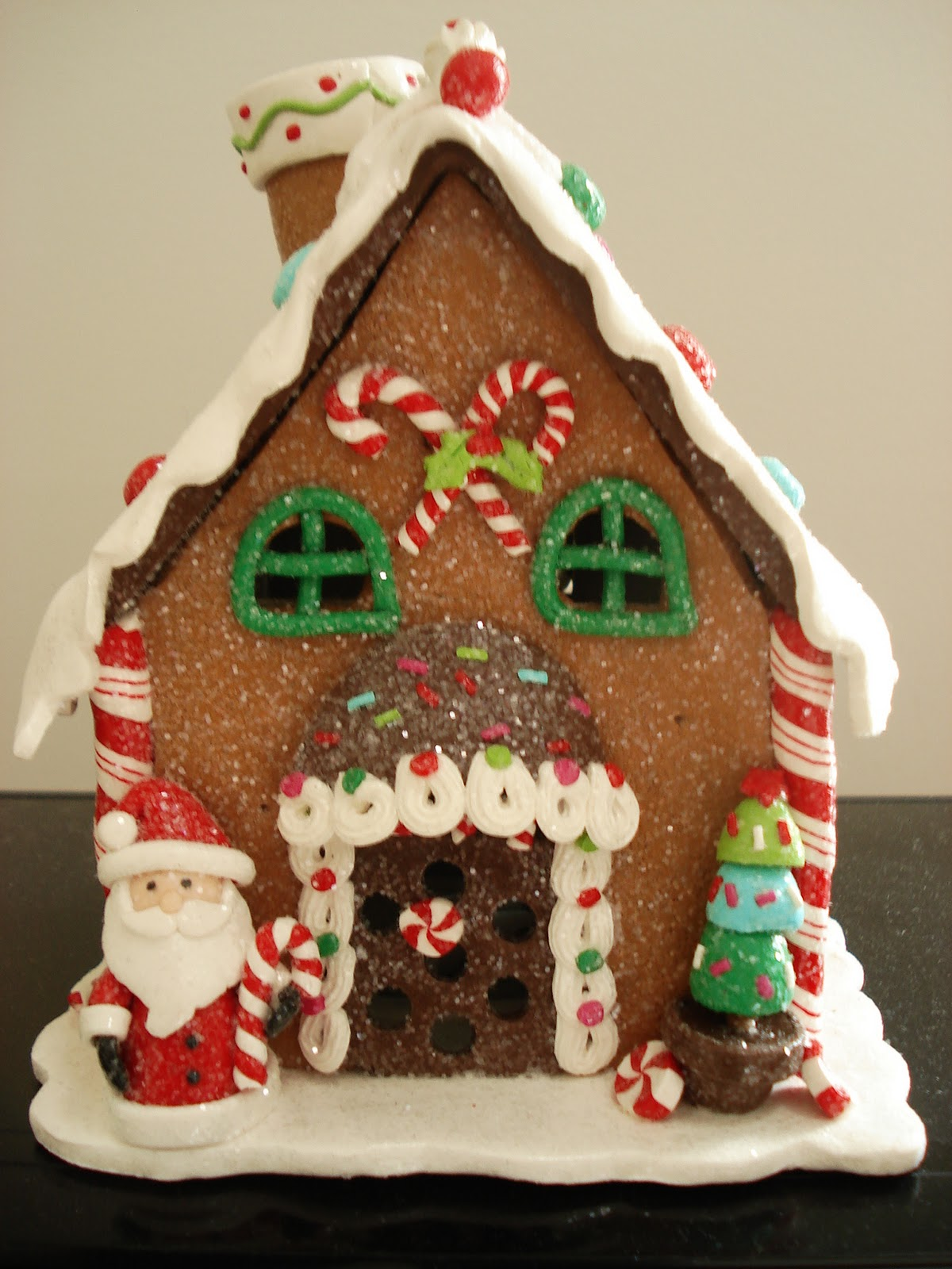 a faithful attempt: Gingerbread Houses on