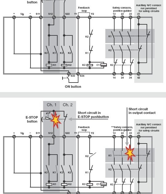 pilz automation safety structure and function of safety relays