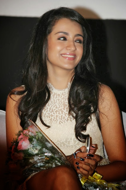 Trisha At Endrendrum Punnagai Audio Launch
