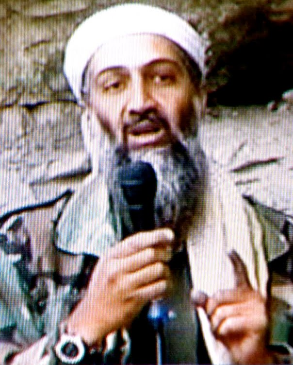 leader Osama in Laden had in. leader Osama in Laden is.