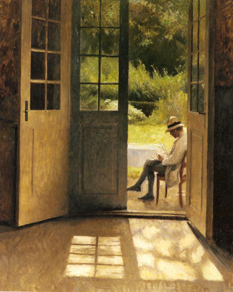 Peter Ilsted. The Open Door