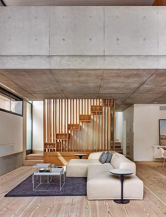 desain interior ruang tengah