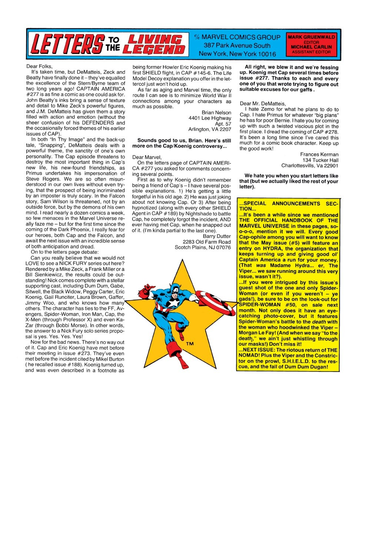 Captain America (1968) Issue #281 #197 - English 24