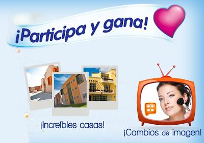 premio 3 increibles casas o 6 cambios de imagen promocion suavitel Mexico 2011