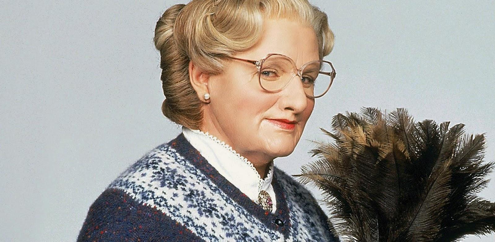 Robin Williams vai voltar a usar peruca na sequência de Uma Babá Quase Perfeita