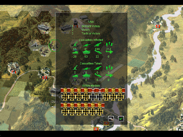 People's General - Victory Medals Screenshot.