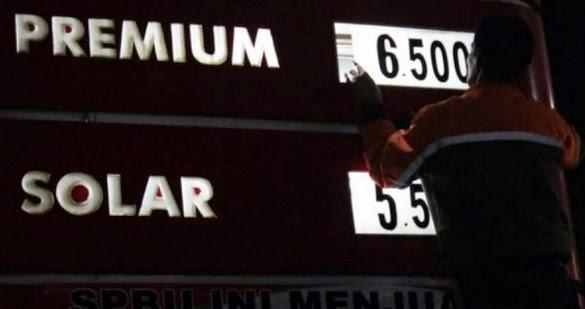 harga bbm kembali naik