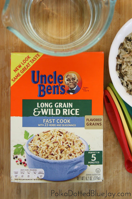 Super Easy and Quick Chicken and Wild Rice Soup with Uncle Ben's® Rice // Perfect Fall Recipe // #recipe #ad #soup #justaddrice #‎CollectiveBias‬