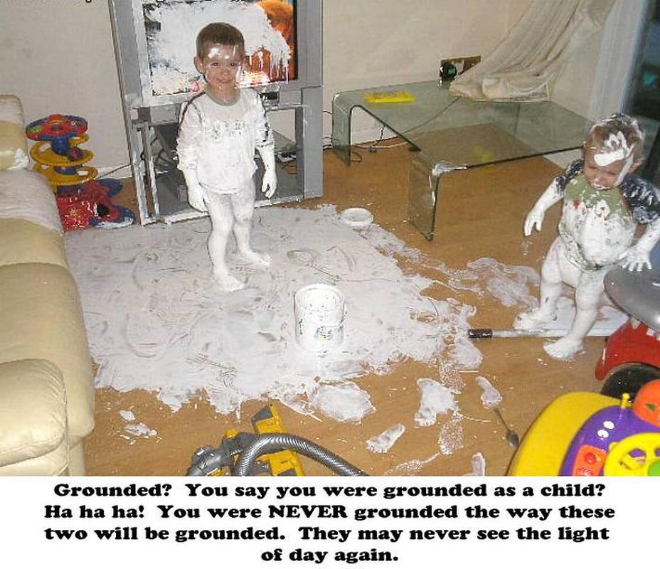 Meme+0523 chuck's fun page 2 have children, they said children are fun
