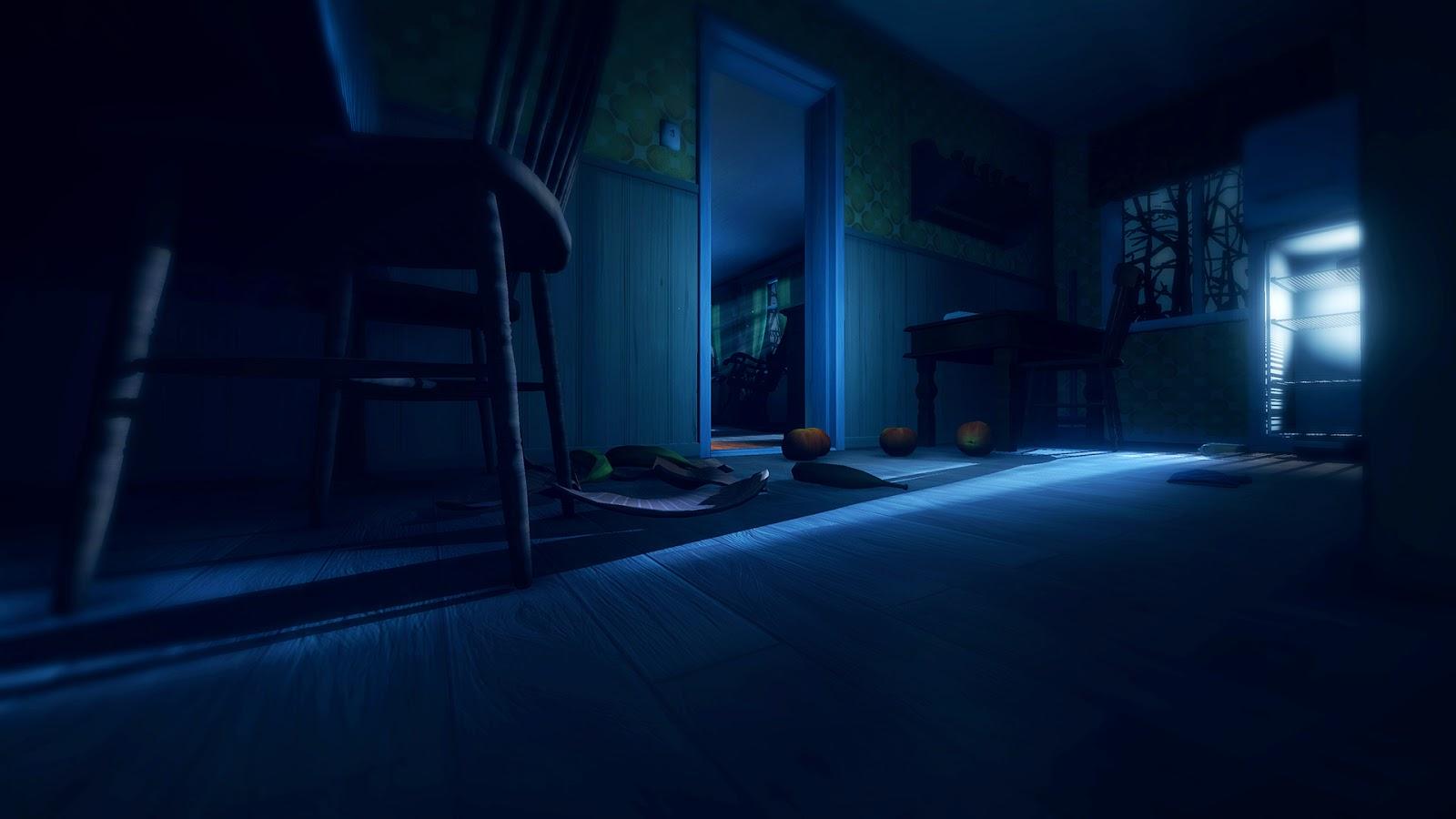 Among the sleep screenshot dark doorway in house