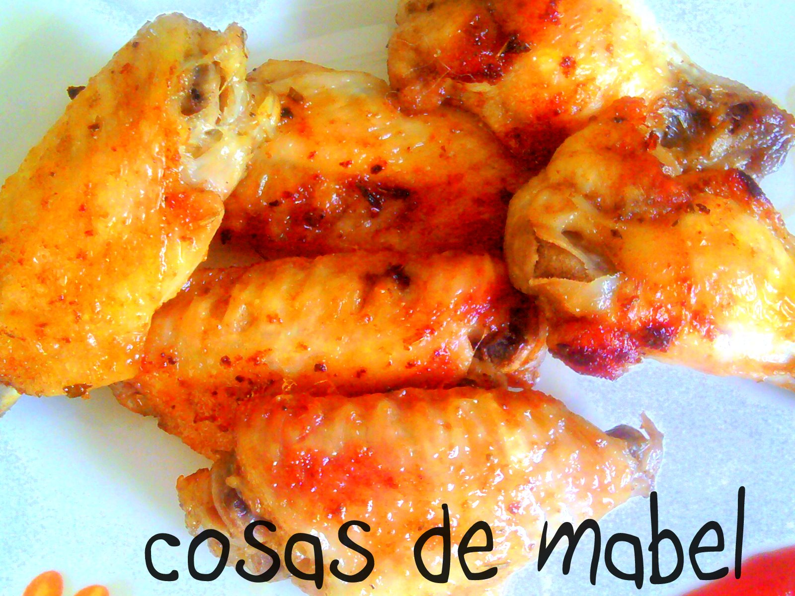 Cosas de mabel alitas de pollo en adobo - Adobo de alitas de pollo ...