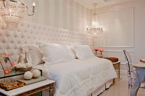 Cama encostada na parede veja quartos de casal e  ~ Quarto Romantico Solteiro