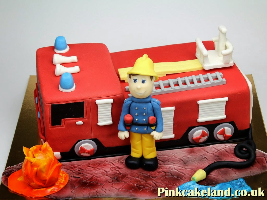 Fire Engine Cake, London Novelty Cakes