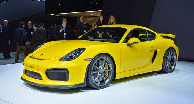 2016 Porsche Cayman GT4 review