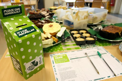 PKL takes part in the World's Biggest Coffee Morning for Macmillan