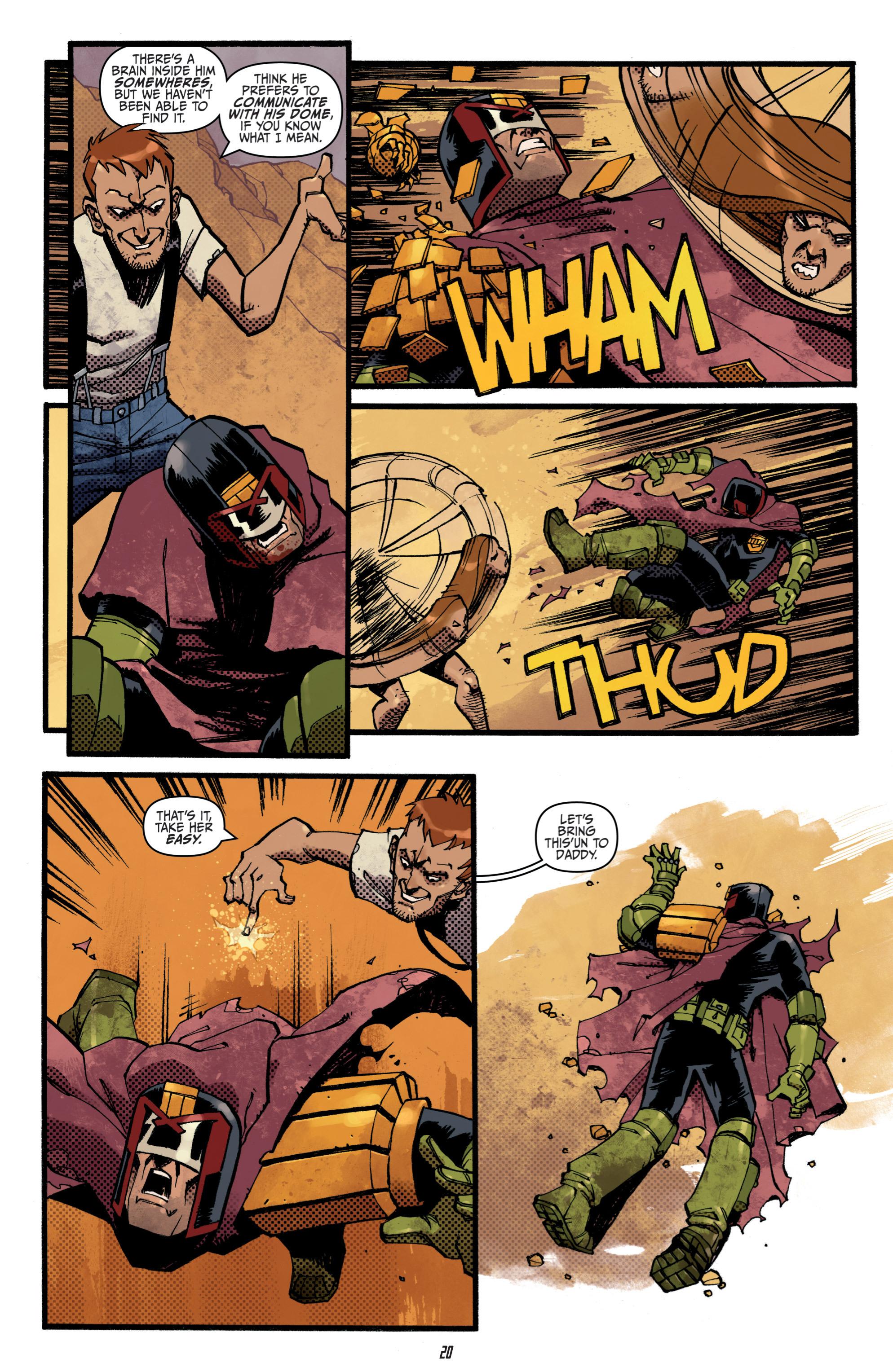 Read online Judge Dredd (2012) comic -  Issue # _TPB 3 - 20