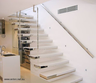 Escalera moderna