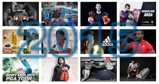 Los doce grandes acuerdos de embajadores de marca del año 2015