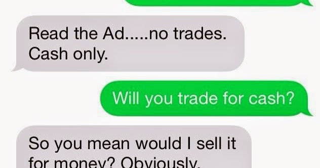 So somebody tried to sell a ping pong table on craigslist for Trading websites like craigslist