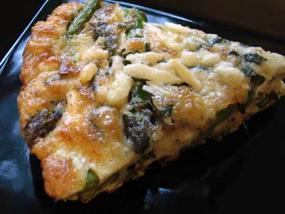 Asparagus and Mint Frittata