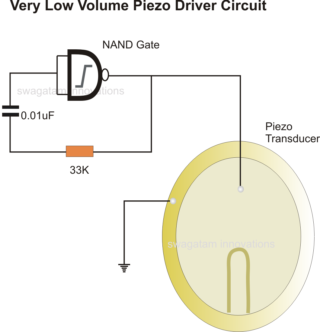 Circuit For Piezo Buzzer Make This Electronic Mosquito Repeller Diagram